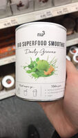Nu3 Bio Superfood Smoothie, Daily Greens, Pulver - Product