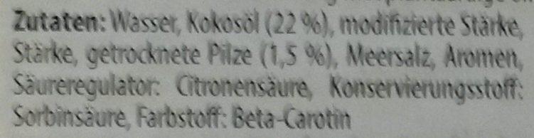 Fromage en tranche champignons - Ingrediënten - de
