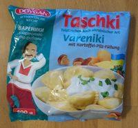 Taschki Vareniki mit Kartoffel-Pilz-Füllung - Produkt