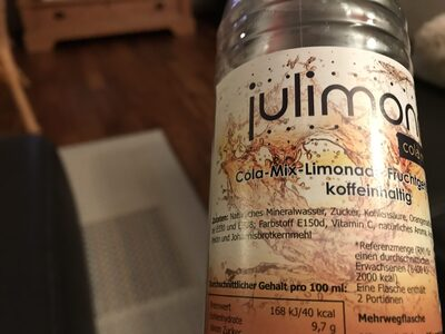 Julimond Cola mix - Ingredienti - de