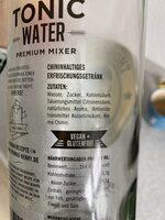 Tonic Water - Zutaten - de