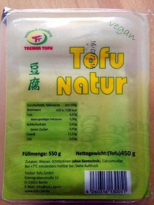 Tofu Natur - Produit