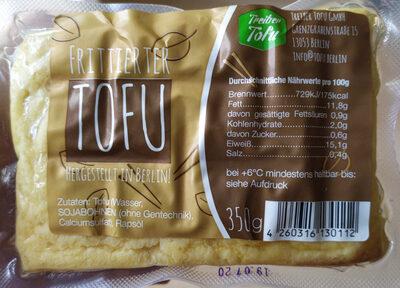 Frittier Tofu - Produkt - de