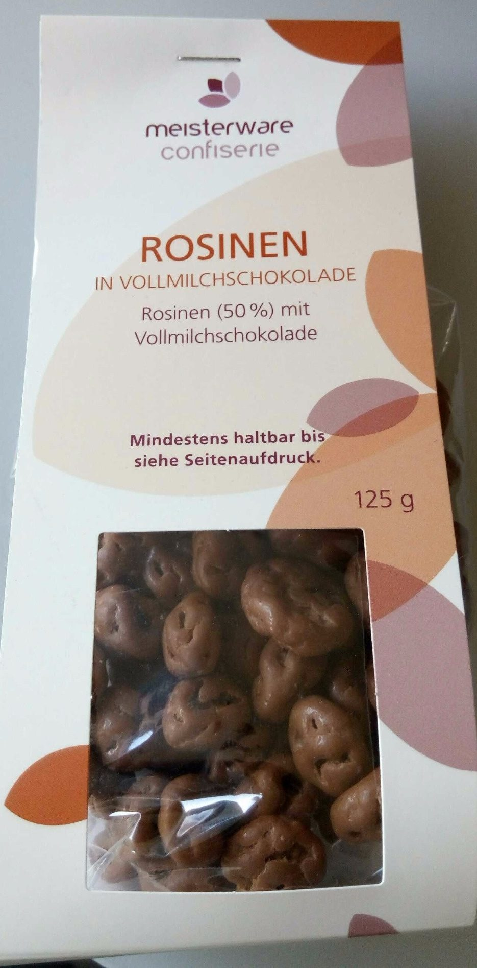 Rosinen in Vollmilchschokolade - Product - de