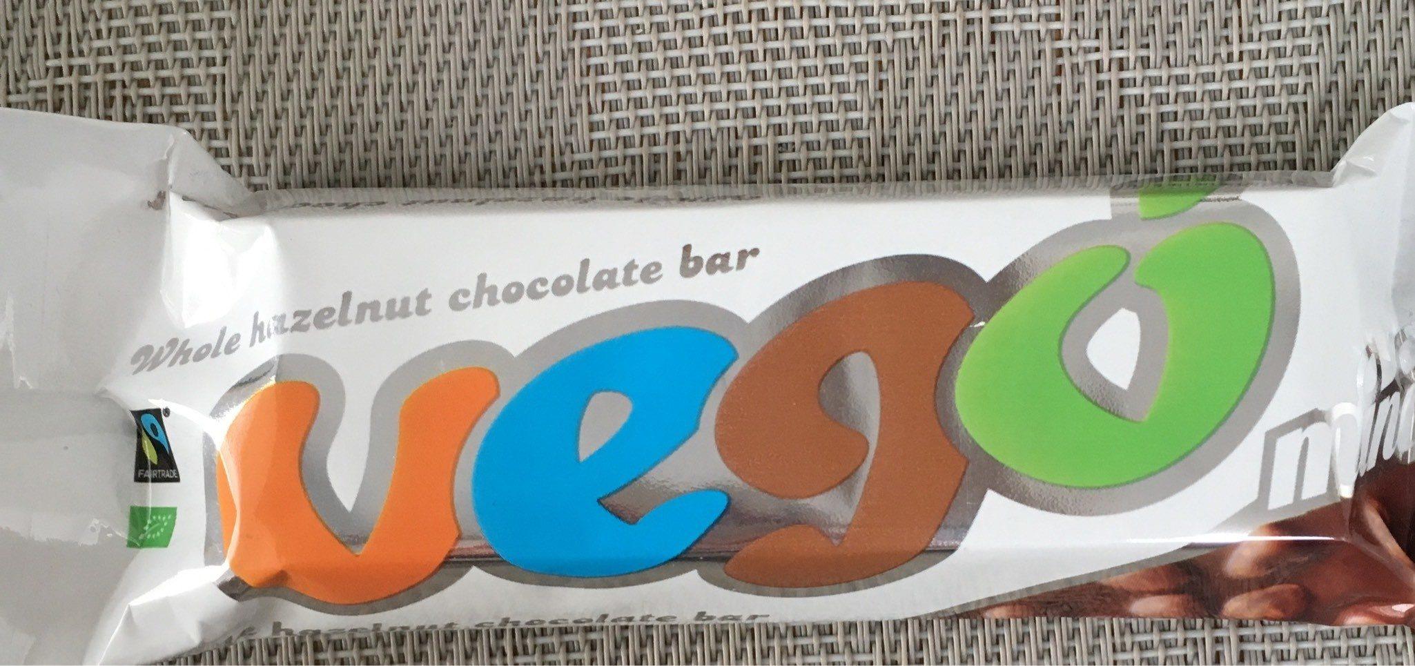Whole Hazelnut Chocolate Bar - Product - en