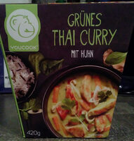 Green Thai Curry with Chicken - Produit - en