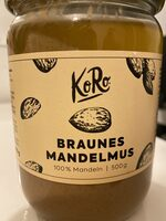 Braunes Mandelmus - Produit - fr