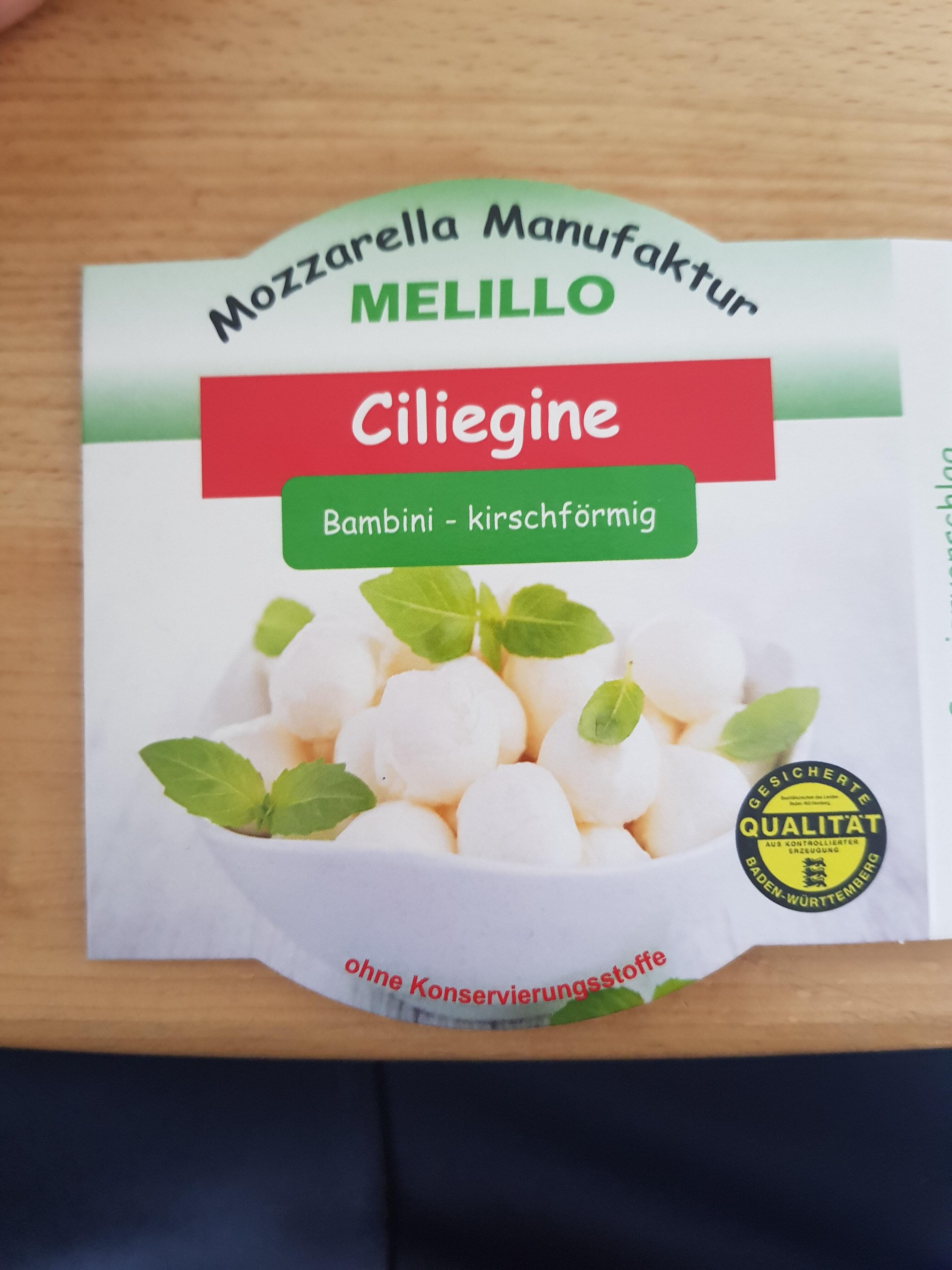 Melillo's Ciliegine - Product