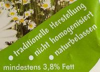 Frische Tübinger Vollmilch - Ingredienti - de
