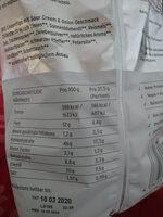 Protein Flips - Voedingswaarden - de