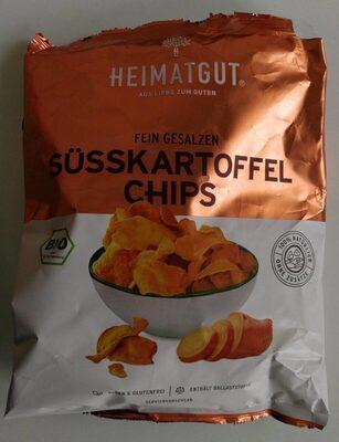 Süsskartoffel Chips - Prodotto - de