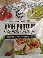 High protein tortilla wraps - Produkt - en