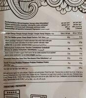 High protein tortilla wraps - Nährwertangaben - en