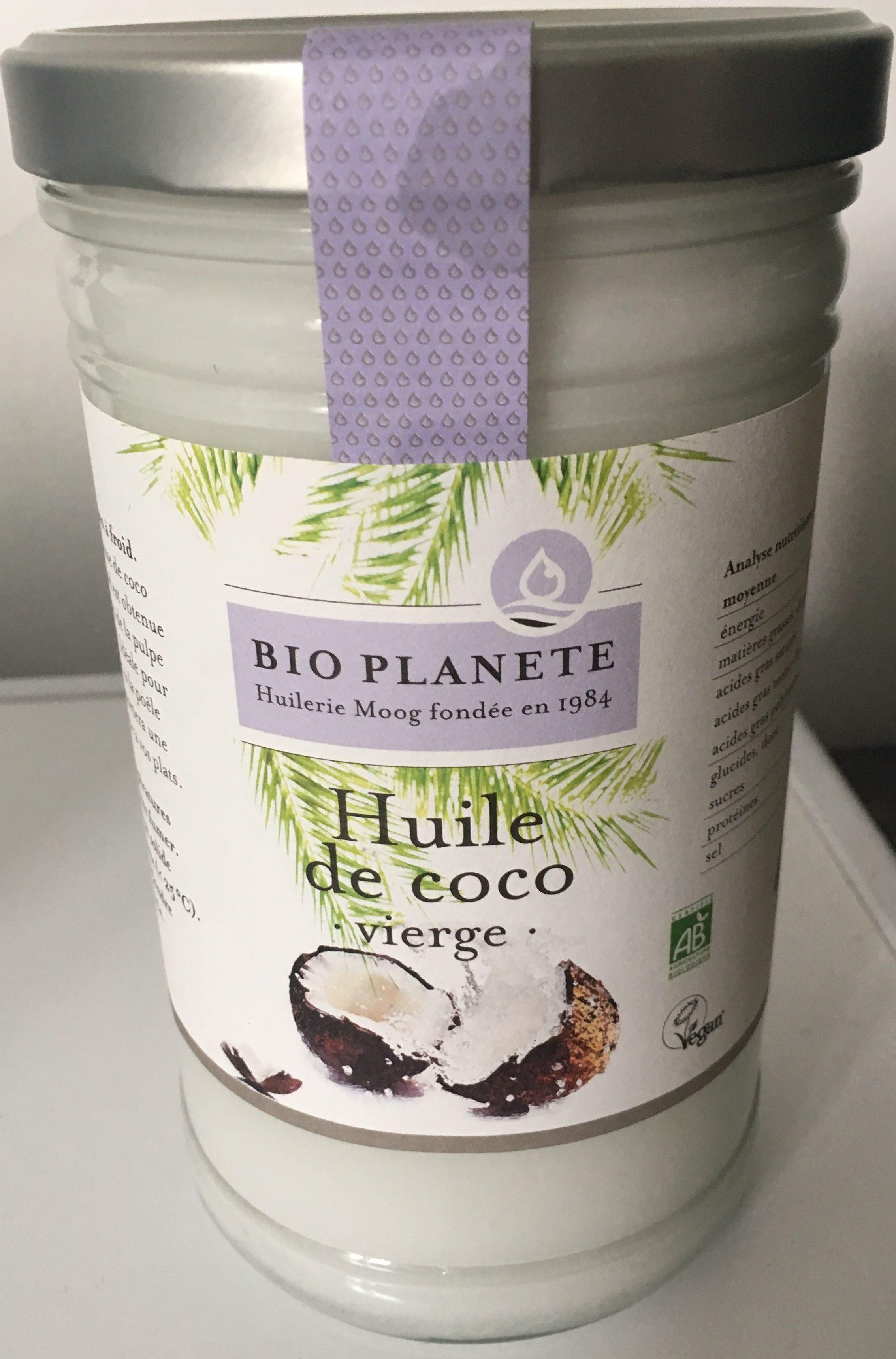 Huile de coco vierge - Produit