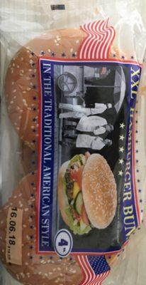 XXL Hamburger Buns, Mit Sesam - Product - fr