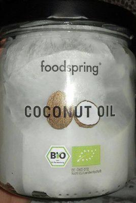 Foodspring Coconut Oil - Produit - de
