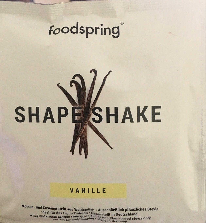 Shape Shake Vanille - Produit - fr