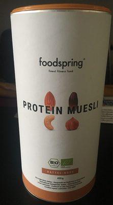 Foodspring Protein Müsli Dattel-nuss - Producto - en