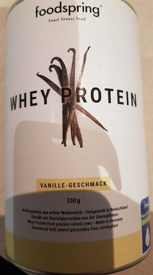 Foodspring - whey protein - 产品 - fr