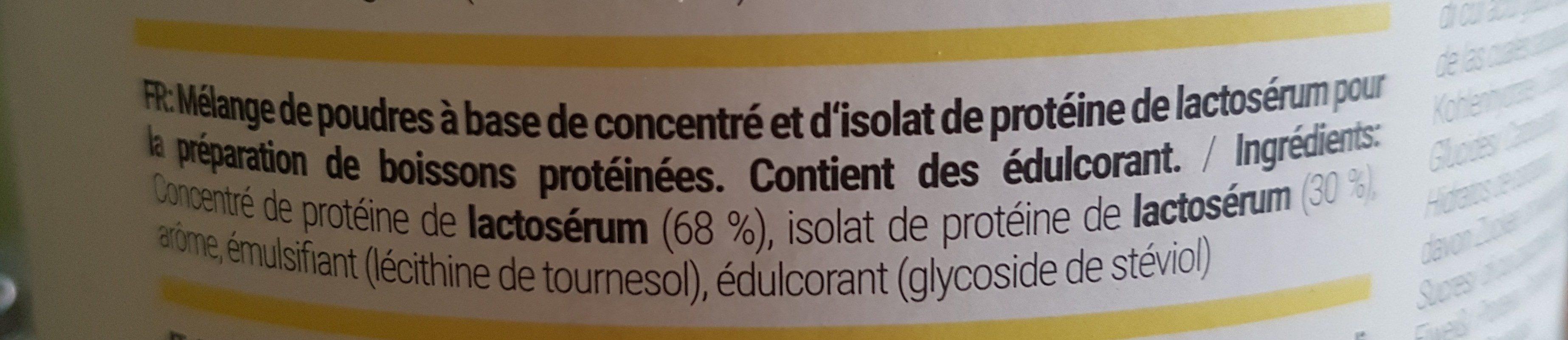 Hey protéine - Ingredientes
