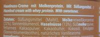 Protein Cream - Ingredienti - de