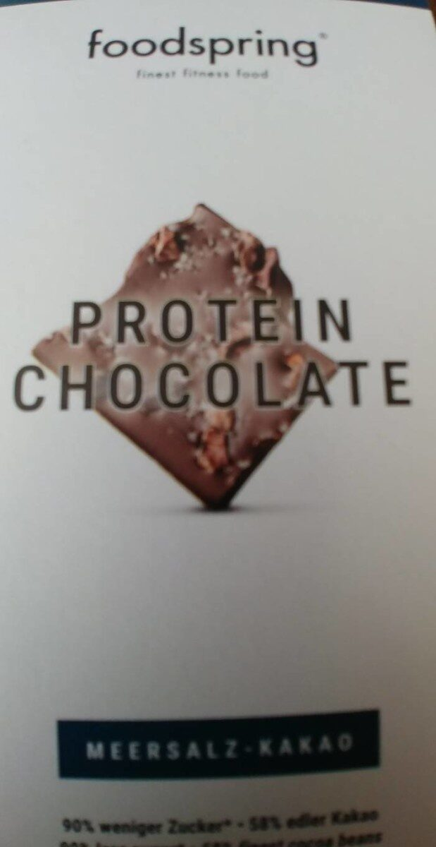 Protein chocolate - Product - fr