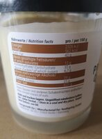 Protein Cream Cocos - Informations nutritionnelles