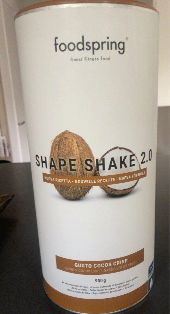 Foodspring shape shake 2.0 - Produit - fr