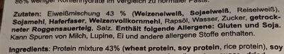 Protein Nudeln - Ingredients - de