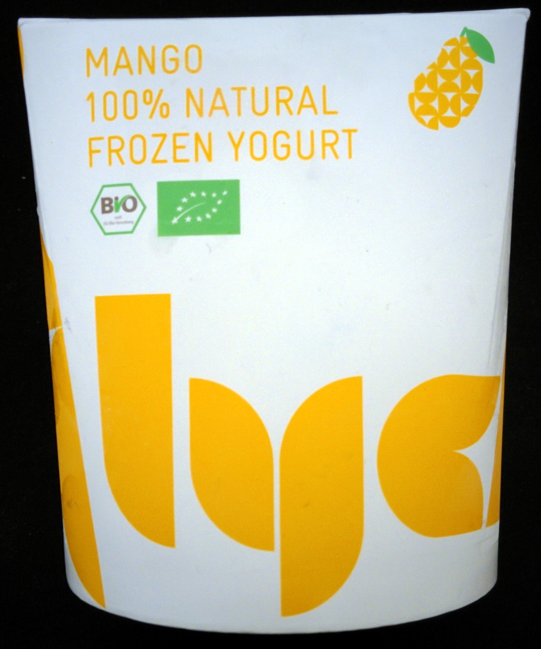Mango 100% Natural Frozen Yogurt - Produit