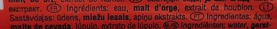 Duff - Ingrédients - fr