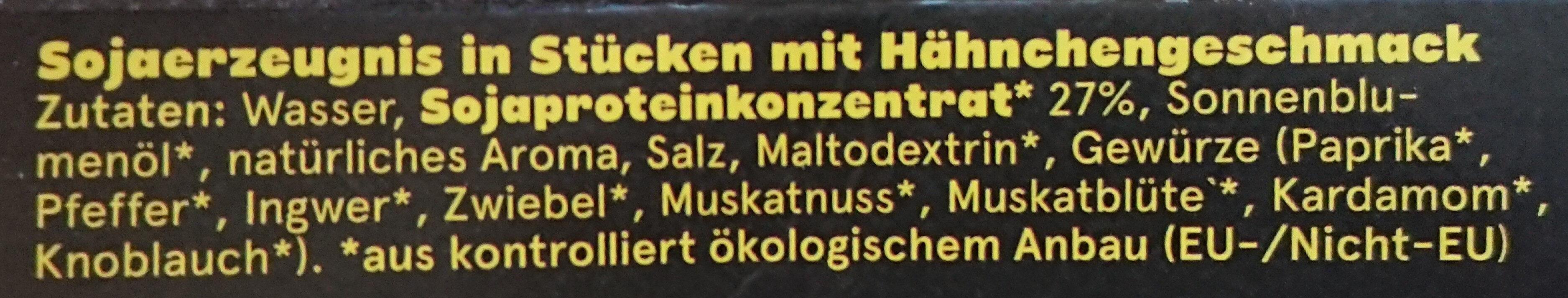 Like Chicken - Ingrédients - de