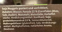 Golden Nuggets aus Soja - Inhaltsstoffe - de