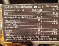 Golden Nuggets aus Soja - Informations nutritionnelles - de