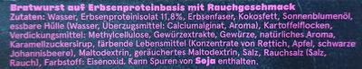 Like Schinken Bratwust - Ingredienti - de