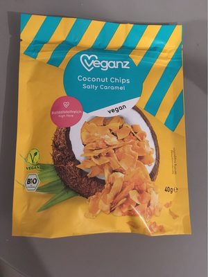 Coconut Chips, Salty Caramel - Product
