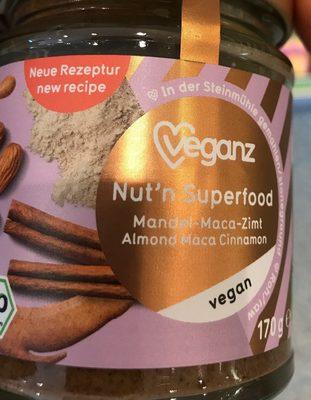 Nut'n Superfood, Mandel-maca-zimt - Produit - fr