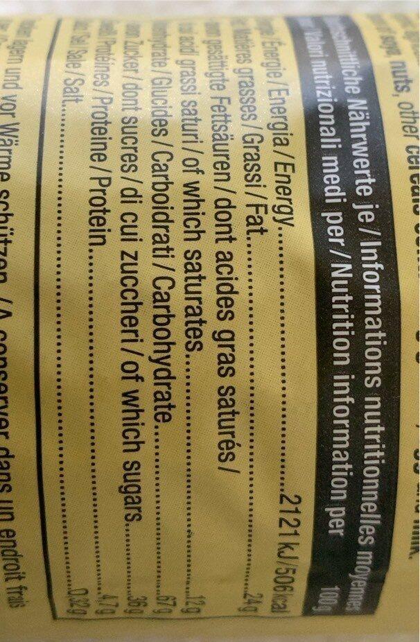 Doppelkeks - Lemon Cake Style - Voedingswaarden - de