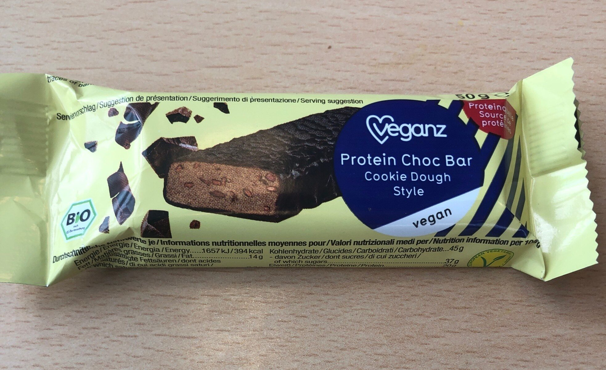 Protein choc bar - Product - fr