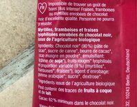 Beeren-Mix - Ingrediënten - fr