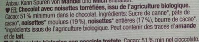 Roasted Hazelnut - Zutaten - fr