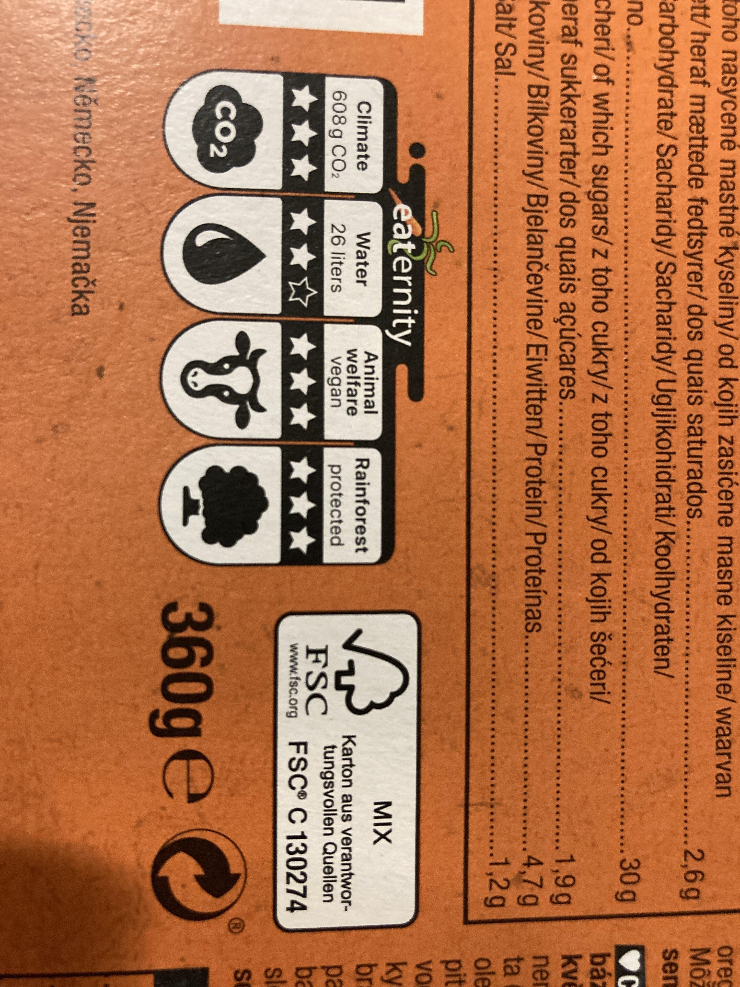 Pizza tricolore - Wiederverwertungsanweisungen und/oder Verpackungsinformationen - de