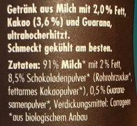 Koawach original schoko - Ingrédients - de
