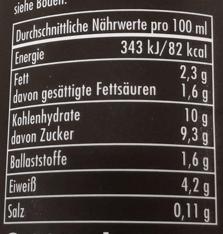 Koawach original schoko - Informations nutritionnelles - de