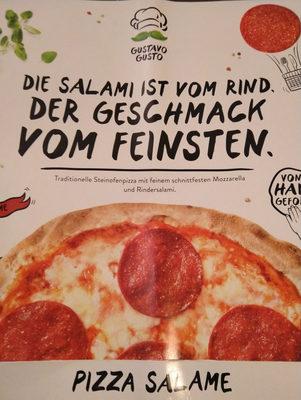 Salami Gustavo Pizza - Produit - de