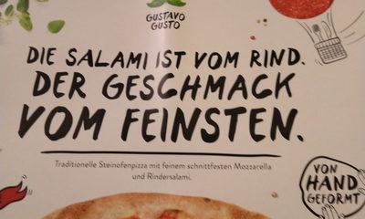 Salami Gustavo Pizza - Ingrédients - de