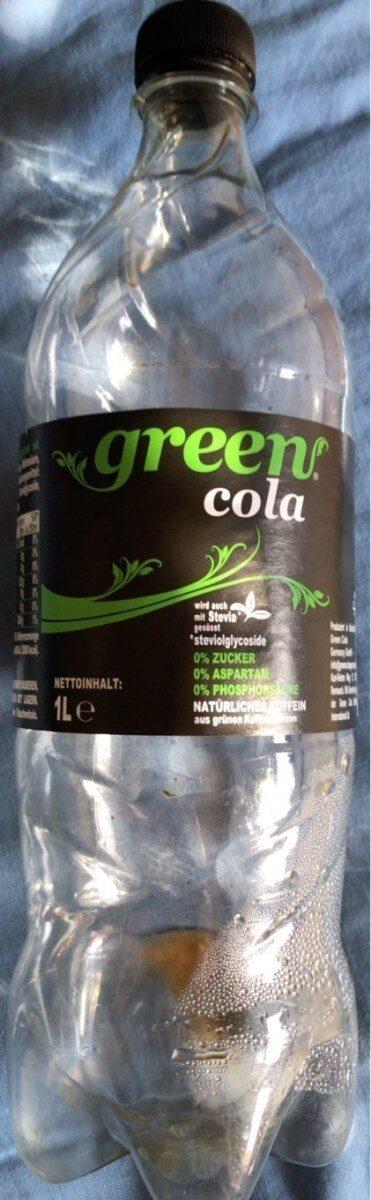 green cola - Prodotto - de