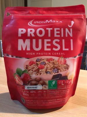 Protein Muesli Banane - Product - fr