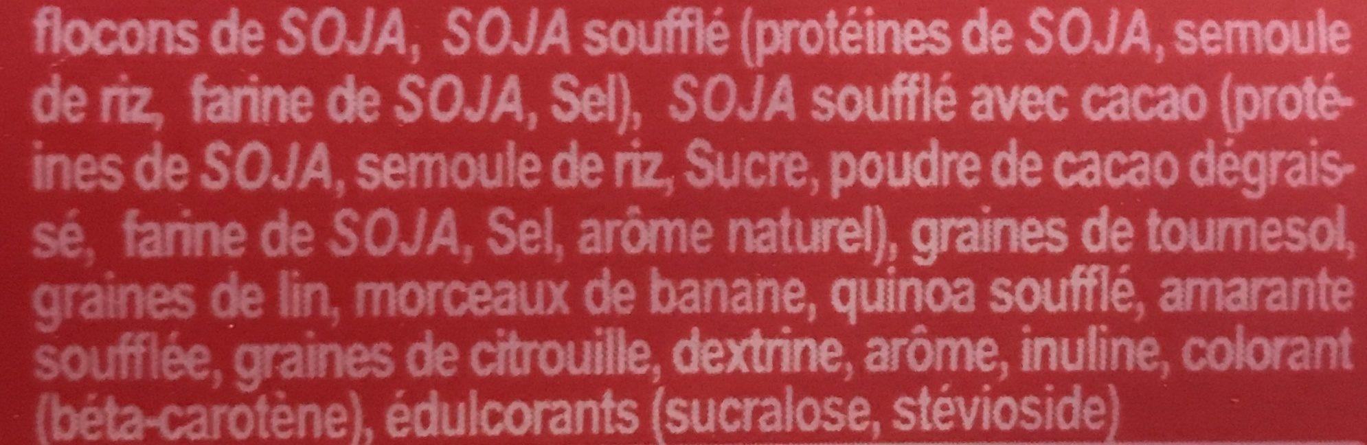 Protein Muesli Banane - Ingrediënten - fr