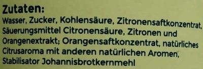 Angeliter Zitronenlimonade - Ingrediënten